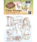 Dreamerland Crafts Clear Stamp Set-The Road To Home Is Never Too Far