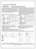 Mccall Pattern V8767 Ee (14-16--Vogue Pattern