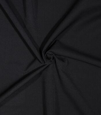 Sportswear Extreme Stretch Nylon Fabric-Black