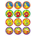 Zombie Fruit-Dirt Stinky Stickers 48 Per Pack, 6 Packs