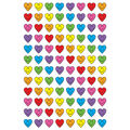 Heart Smiles superShapes Stickers 800 Per Pack, 12 Packs
