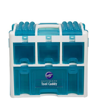 "Ultimate Tool Caddy 12.5""X14.25""X8"" Aqua"