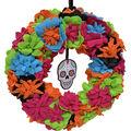 Maker\u0027s Halloween Day of the Dead Wreath