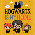 Harry Potter No Sew Fleece Throw-Hogwarts Is My Home