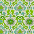Waverly Sun N Shade Fabric 9\u0022x9\u0022 Swatch-Santa Maria Mint Julep