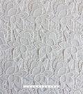 Modern Vintage Lace Fabric 48\u0027\u0027-White Floral