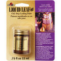 Plaid Liquid Leaf 0.75 fl. oz. One-Step Leafing Paint-Brass