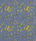 Home Decor 8\u0022x8\u0022 Fabric Swatch-Robert Allen Les Jardins Hydrangea