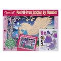 Melissa & Doug Peel & Press Sticker by Number - Mystical Unicorn