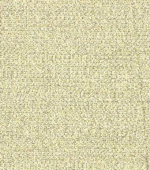 Metallics Crepe Fabric -Gold & White