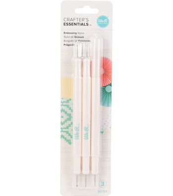 We R Memory Keepers Crafter's Essentials 3 pk Embossing Stylus