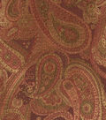 Home Decor 8\u0022x8\u0022 Fabric Swatch-Print Fabric Eaton Square Sonoma Merlot