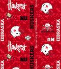 University of Nebraska Cornhuskers Fleece Fabric 60\u0022-Digital Camo