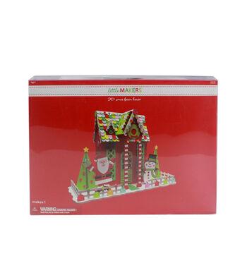 Little Makers 3D Christmas Foam House Kit