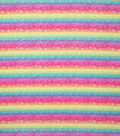 Novelty Cotton Fabric-Floral Rainbow Tie Dye