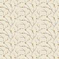 Eaton Square Sheer Fabric 51\u0022-Remedy/Goldleaf