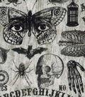Halloween Cotton Fabric 43\u0022-Ouija Board