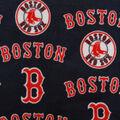 Boston Red Sox Fleece Fabric -Tossed