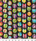 Dr. Seuss Cotton Fabric -Bouncing Alphabet
