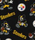 Pittsburg Steelers Fleece Fabric-Mickey
