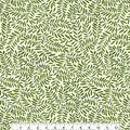 Keepsake Calico Cotton Fabric-Green Scroll Vine