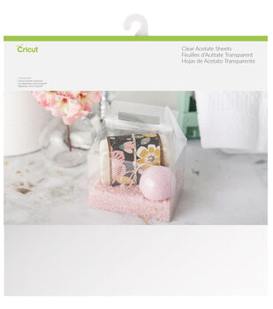 Cricut 5 Pack 8.5''x11'' Acetate Sheets-Clear