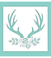 Hampton Art 12X12 Stencil-Deer, , hi-res