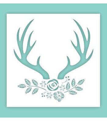 Hampton Art 12X12 Stencil-Deer