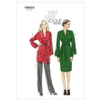 Vogue Patterns Misses Dress-V8825