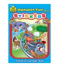 Sticker Book-Alphabet Fun