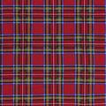 Christmas Cotton Fabric-Multi Holiday Red Plaid
