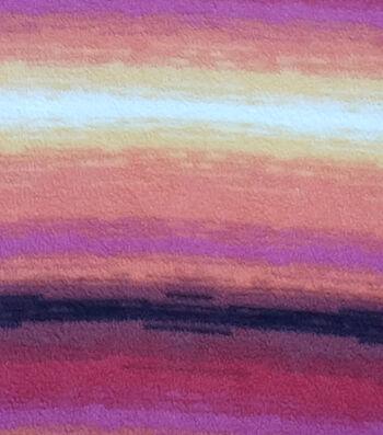"Anti-Pill Fleece Fabric 59""-Sunset Multi"