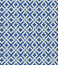 Waverly Upholstery 8x8 Fabric Swatch-Eternal Link/Cloud