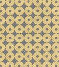 IMAN Home Sheer Fabric 57\u0022-Sayan Circles/Ore
