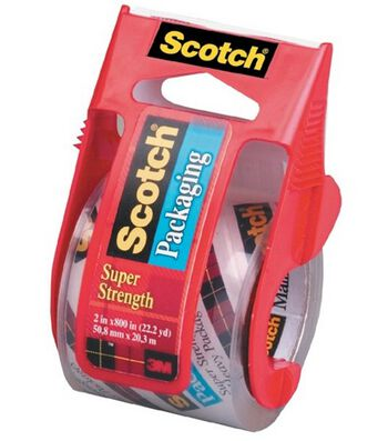 "Scotch Clear Mailing Tape 2""x800"" Dispenser"