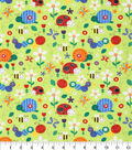 Novelty Cotton Fabric -Bugs