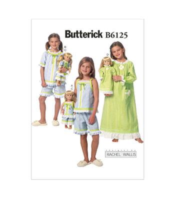 Butterick Child Sleep & Lounge-B6125