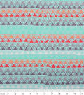 Snuggle Flannel Fabric -Ava Triangles