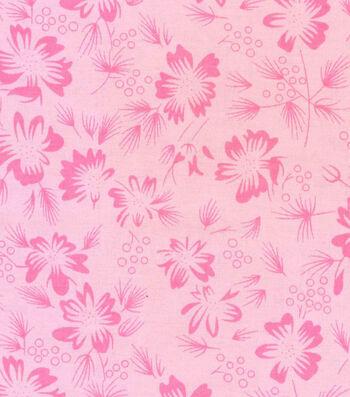 Roc-lon® Garden Bouquet® Muslin 10 yds-Pink Carnation