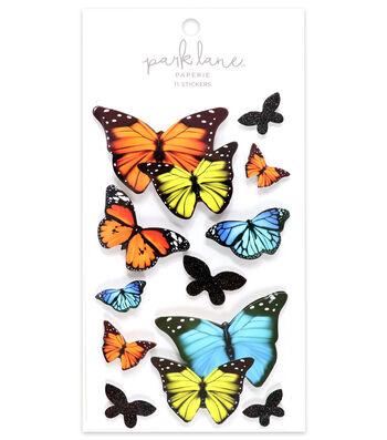 Park Lane 11 pk 3D Stickers-Butterflies