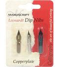 Manuscript Leonardt Copperplate Dip Pen Nibs