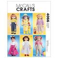 McCall\u0027s Crafts Doll Clothes-M4066