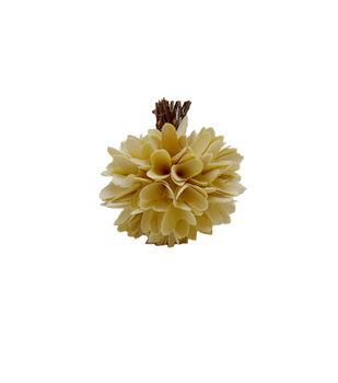 Simply Autumn Small Woodchip Pumpkin-Cream