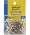 Dritz Quilting Extra Fine Glass Head Pins-Size 22 250/Pkg