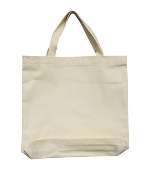 "Medium Tote 13.5""X13.5""X2""-Natural"