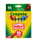 Crayola 16 pk Jumbo Crayons