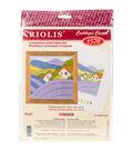 RIOLIS Combopu Cama 4.75\u0027\u0027x4.75\u0027\u0027 Long Stitch Embroidery Kit-Lavender