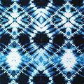 Stretch Chiffon Fabric 57\u0027\u0027-Navy Diamond Tie Dye