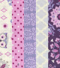 Jelly Roll Cotton Fabric 20 Strips 2.5\u0027\u0027-Owl, Dots & Floral