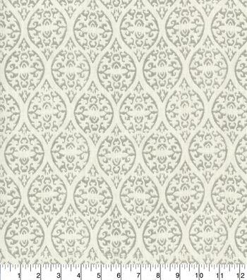 Waverly Upholstery Fabric 54''-Ulla Platinum
